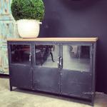 Foundry 3 Door Industrial Sideboard