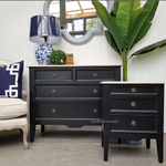 Peninsula 4 Drawer Chest and Bedside