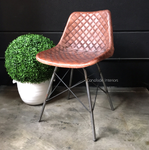 Aviato Aged Leather Chair