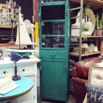 Dockyard Nautical Green Industrial Display Unit