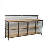 Lothbrok Industrial Mesh TV Unit / Sideboard