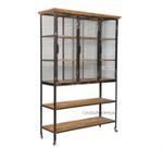 Lothbrok Mesh Industrial Cupboard/ Bookshelf