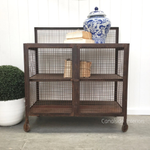 Lothbrok Industrial Mesh TV Unit / Sideboard - Small