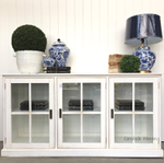 South Hamptons Glass Sideboard