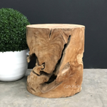 Organic Log Trunk Stools / Side Tables