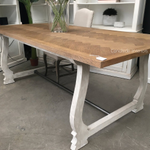 Harper Herringbone Dining Table
