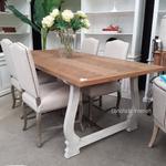 Harper Herringbone Dining Table