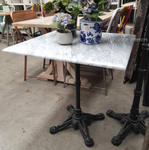 *Cafe Table Top - Carrara Marble - Square