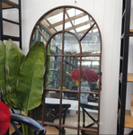 Conservatory Industrial Mirror