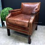 Metropolitan Aged Leather Armchair