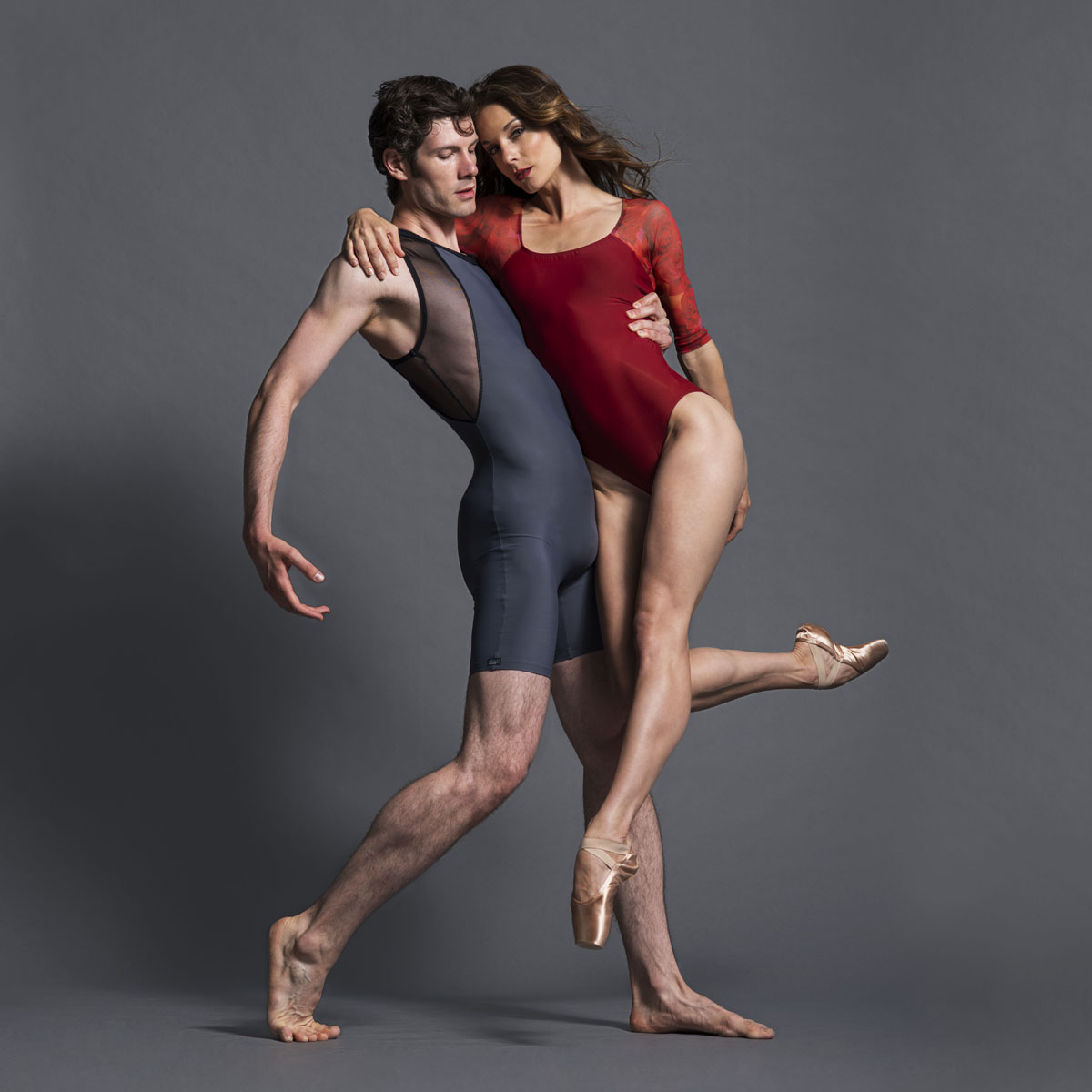 Biketard - Nathan; Leotard - Sally