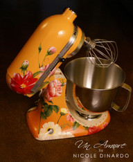 "EXCLUSIVE - The ""Original"" Pioneer Woman Edition Custom  Floral Artwork {mixer NOT Included}"