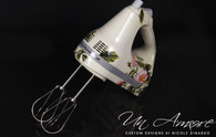 Custom Floral Painted KitchenAid hand mixer