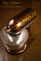 Pearl Leopard Custom KitchenAid Mixer *ARTWORK ONLY {mixer not included}