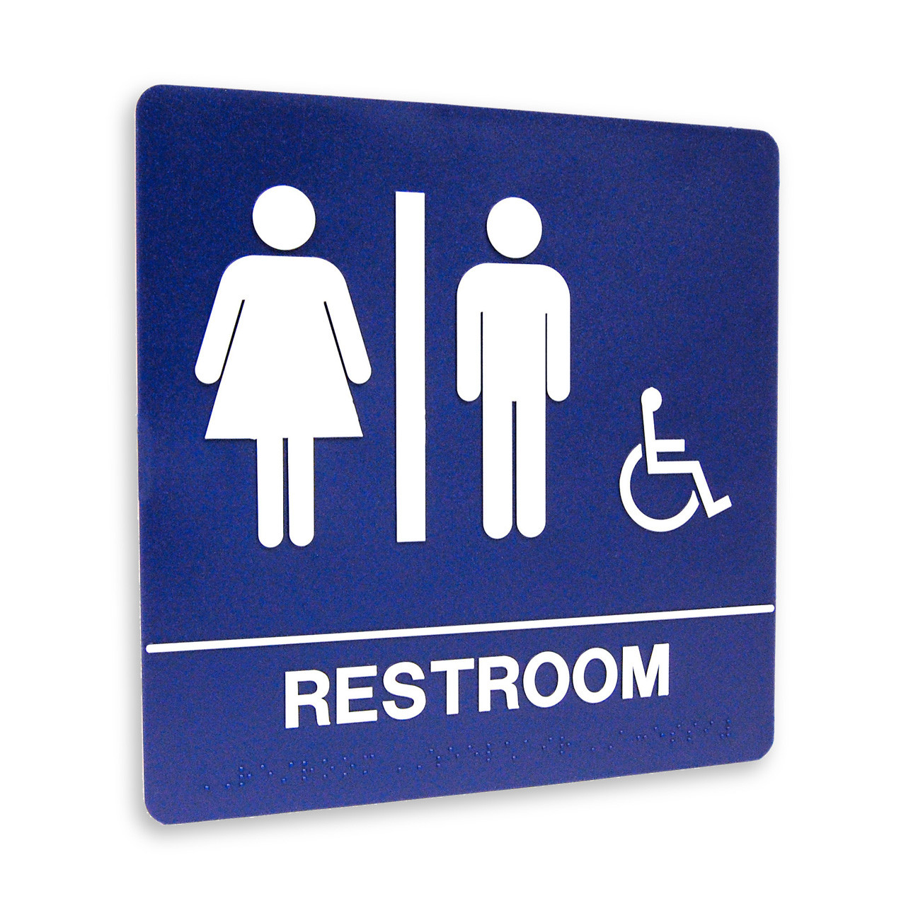 Http Kroysignstore Mybigcommerce Com Molded Braille 8 X 8 Molded Braille Restroom Sign Restroom W Isa