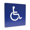 "8"" x 8"" Braille Sign - ""INTERNATIONAL SYMBOL OF ACCESSIBILITY"""