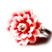 Handmade Fancy Flower Ring in 5 different colors