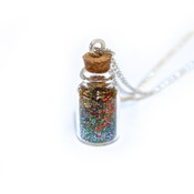 Glittery Love Dust Necklace