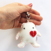 Cupido Beanie Clip-on / Key chain