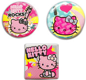 Hello Kitty Button Pins