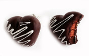 Chocolate Bites Stud Earrings