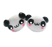 Panda Stud Earrings