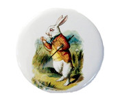 White Rabbit Pocket Mirror
