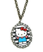 Hello Kitty Bow Framed Necklace