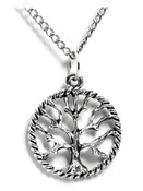 Circle Of Life Tree Necklace
