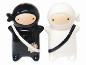 Ninja Salt and Pepper Shakers