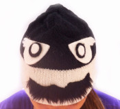 Stache Robber Beanie Hat