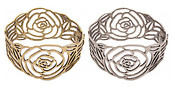 Rose Hinge Cuff Bracelet