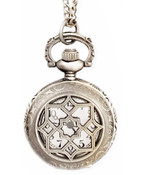 Victorian Times Pocket Watch Necklace