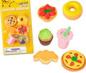 Junk Food Eraser Set