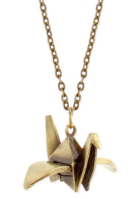 Zad Gold Origami Necklace at Sears.com