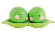 Two Peas In A Pod Salt & Pepper Shakers