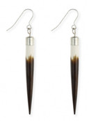 Faux Porcupine Quill Earrings