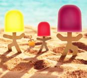 Lollypop Men - Popsicle Sticks