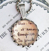 Interview With A Vampire Necklace