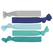 Blue Heaven Knotted Hair Ties