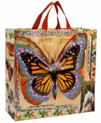 Butterfly Monarchy Shopper Bag