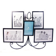 Burnes of Boston 5-Opening Collage Chandelier Tabletop / Wall Hanging Photo Frames