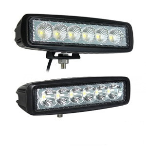 18 watt mini 6 led light bar spot beam pro light usa 18 watt mini 6 led light bar spot beam aloadofball Gallery