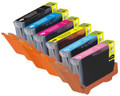 Canon Compatible Cli-8 (Six Cartridge Multi Pack) b,c,m,y,lc,lm