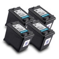 Compatible HP 27 Black Inkjet (19ml) QUAD PACK