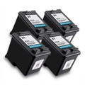 Compatible HP 21 Black Ink Cartridge QUAD PACK