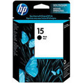 ORIGINAL HP 15 Black Ink Cartridge (C6615)