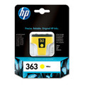 Original Yellow HP 363 Ink Cartridge - (Vivera C8773E)