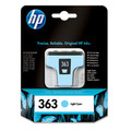 Original Light Cyan HP 363 Ink Cartridge - (Vivera C8774EE)