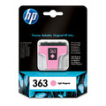 Original Light Magenta HP 363 Ink Cartridge - (Vivera C8775EE)